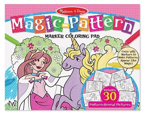 Раскраска Melissa &amp; Doug Раскрась по шаблону розоваяРаскрась по шаблону розоваяРаскраска Melissa & Doug Раскрась по шаблону розовая - ребенок будет в восторге, ведь эта раскраска содержит 30 иллюстраций.   Это отличный способ, чтобы поощрять детей, развивать мелкую моторику, зрительно-моторную координацию и конечно творческие способности!  Компания Melissa & Doug придерживается самых высоких стандартов качества и безопасности детских образовательных продуктов для детей. Melissa & Doug - это один из ведущих брендов деревянных игрушек, используемые компанией покрытия и красители нетоксичны.<br>
