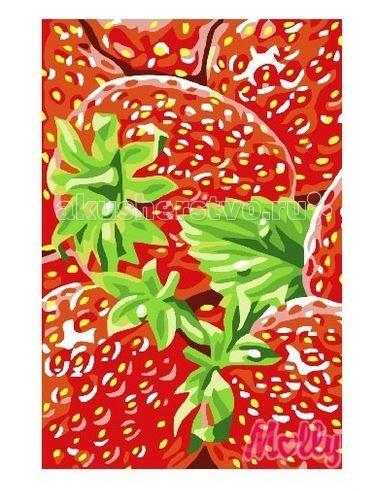 Molly Картина по номерам Клубника 20х30 смКартина по номерам Клубника 20х30 смРаскраска по номерам Molly Клубника 11 цветов - оригинальный набор, позволяющий создать первую картину, благодаря поэтапной раскраске полотна   В наборе:    холст из натурального хлопка на деревянном подрамнике (холст предварительно прогрунтован);  нейлоновые кисти разного размера 3 шт.;  акриловые краски (устойчивые к выцветанию);  крепление на стену.   Размер: 20 х 30 см Количество цветов: 11 Уровень сложности: легкий<br>