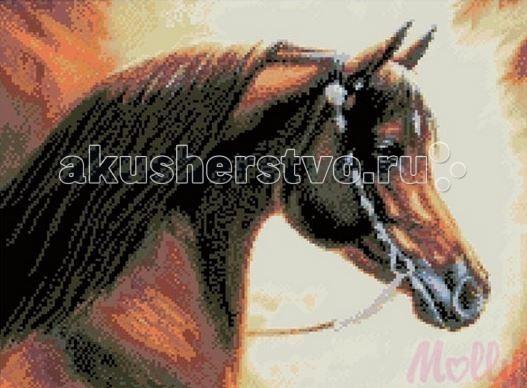 Molly Мозаичная картина Гнедая 40х50 см