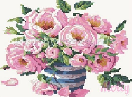 Molly Мозаичная картина Утренний букет 40х50 см