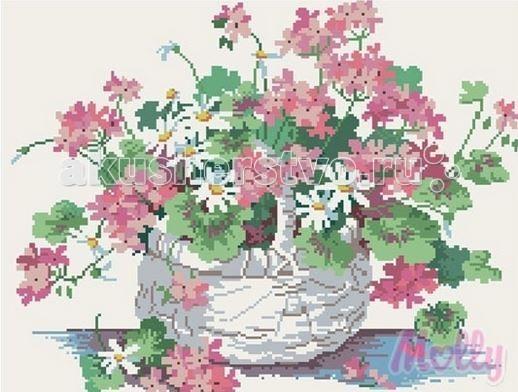 Molly Мозаичная картина Полевые цветы 40х50 смМозаичная картина Полевые цветы 40х50 смМозаичная картина Molly Полевые цветы 23 цвета - оригинальный набор, позволяющий создать первую картину, благодаря поэтапной выкладке мозаикой полотна.    В наборе:    Тканевый холст с клеевым слоем и с нанесенной схемой рисунка;  Металлический пинцет;  Пластиковый контейнер для элементов мозаики;  Специальный карандаш;  Клей-липучка для карандаша;  Комплект разноцветных мозаичных элементов диаметром 2,5 мм;   Размер: 40 х 50 см Количество цветов: 23 Уровень сложности: трудный<br>