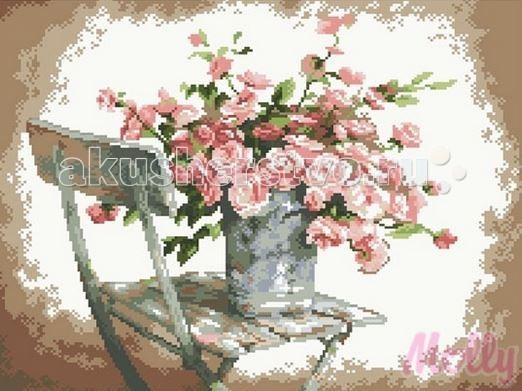 Molly Мозаичная картина Садовые розы 40х50 см