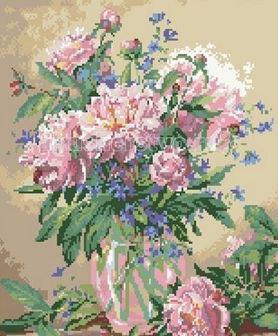 Molly Мозаичная картина Пионы 40 х 50 см