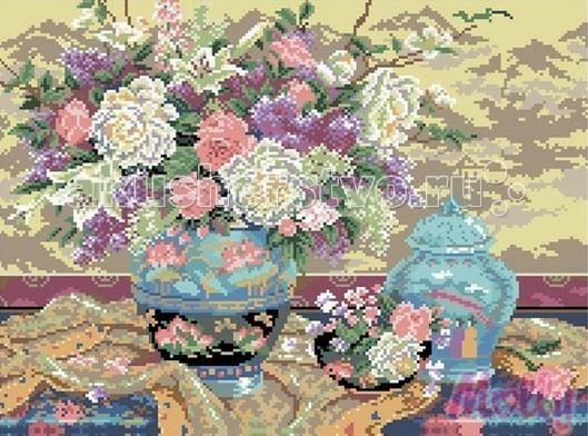 Molly Мозаичная картина В пастельных тонах 40х50 см