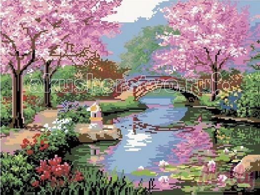 Molly Мозаичная картина Весенняя пастораль 40х50 см