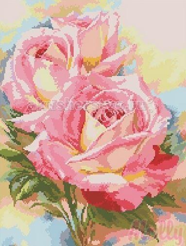Molly Мозаичная картина Чайные розы 40х50 см