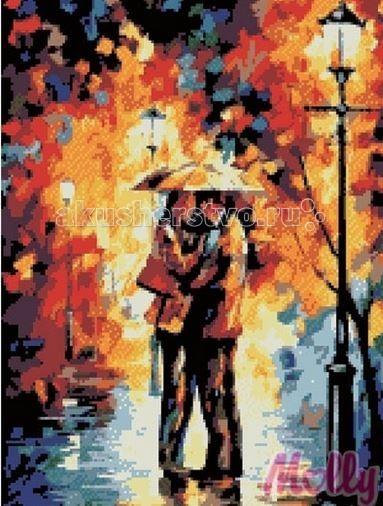 Molly Мозаичная картина Огни дождя 40х50 смМозаичная картина Огни дождя 40х50 смМозаичная картина Molly Огни дождя 30 цветов - оригинальный набор, позволяющий создать первую картину, благодаря поэтапной выкладке мозаикой полотна.    В наборе:    Тканевый холст с клеевым слоем и с нанесенной схемой рисунка;  Металлический пинцет;  Пластиковый контейнер для элементов мозаики;  Специальный карандаш;  Клей-липучка для карандаша;  Комплект разноцветных мозаичных элементов диаметром 2,5 мм;   Размер: 40 х 50 см Количество цветов: 30 Уровень сложности: сложный<br>