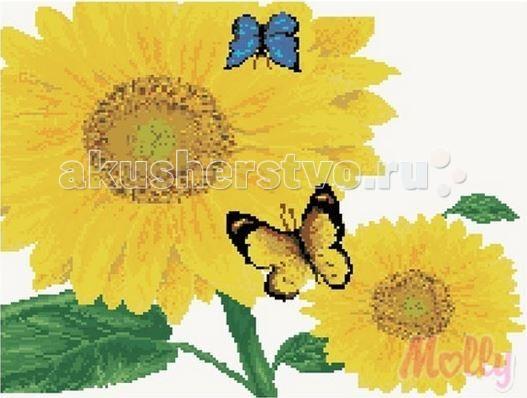 Molly Мозаичная картина Подсолнухи 40х50 см