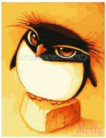 Раскраска Molly Картина по номерам Пингвинчик 30х40 см