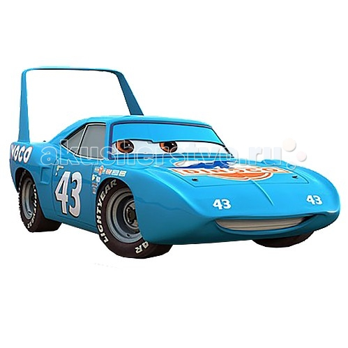 Disney Mattel Cars ����� 2 King (����) 1:55