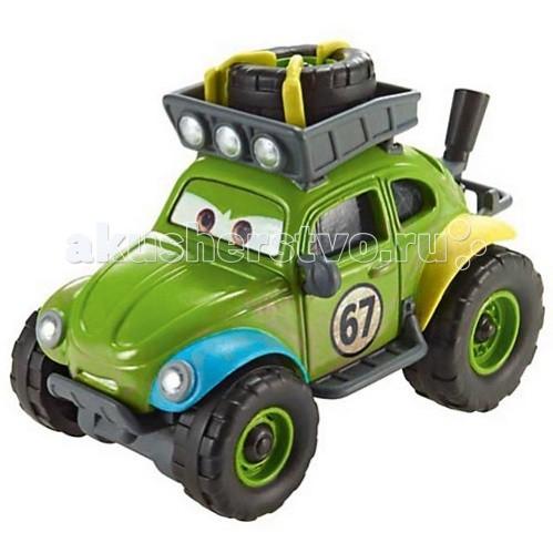 Disney Mattel Cars Тачки 2 RS-500 ShiftyMattel Cars Тачки 2 RS-500 ShiftyМеталлическая машинка из мультфильма Тачки-2 Shifty на блистере.  Выполнена из экологичных материалов, безопасных для здоровья малыша.   Такая игрушка украсит любую коллекцию машинок. Колеса машинки вращаются, корпус выполнен из металла и покрыт влагоустойчивой краской.   Игрушка развивает мелкую моторику рук, воображение и фантазию ребенка.  Размер машинки: 9х7 см.<br>
