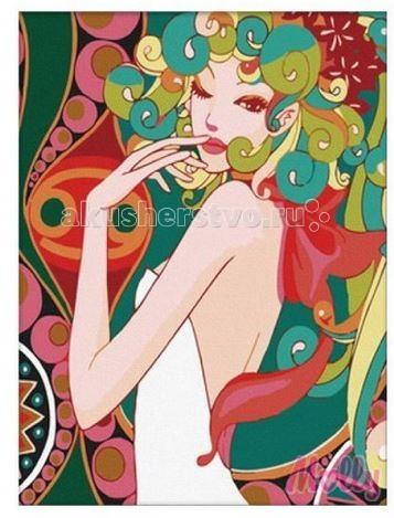 Раскраска Molly Картина по номерам Флирт 40 х 50 см