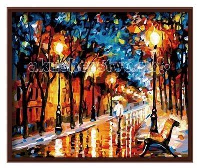 Molly Картина по номерам Осенний вечер 40х50 смКартина по номерам Осенний вечер 40х50 смКартина по номерам Molly Осенний вечер - оригинальный набор, позволяющий создать картину, благодаря поэтапной раскраске полотна.   В наборе:    холст из натурального хлопка на деревянном подрамнике (холст предварительно прогрунтован);  нейлоновые кисти разного размера 3 шт.;  акриловые краски (устойчивые к выцветанию);  крепление на стену;  акриловый лак (2 баночки).   Размер: 40 х 50 см  Защитить готовую картину от воздействия ультрафиолетовых лучей и влаги поможет акриловый лак в наборе. Перед использованием его необходимо разбавить водой в соотношении 1:1. Лак следует наносить на краску в качестве финишного покрытия.<br>