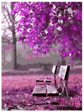 Molly Картина по номерам Малиновое цветение 40х50 смКартина по номерам Малиновое цветение 40х50 смКартина по номерам Molly Малиновое цветение - аналог традиционной раскраски, но на холсте.  Соблюдая нумерацию отдельных сегментом картины, нужно разукрасить картину красками. Рекомендуется начинать с более светлых оттенков, постепенно переходя к более темным. Картины по номерам - интересное хобби и возможность почувствовать себя настоящим художником.    В наборе:    холст из натурального хлопка на деревянном подрамнике (холст предварительно прогрунтован);  нейлоновые кисти разного размера 3 шт.;  акриловые краски (устойчивые к выцветанию);  крепление на стену;  акриловый лак (2 баночки).   Размер: 40 х 50 см Количество цветов: 21 Уровень сложности: средний  Защитить готовую картину от воздействия ультрафиолетовых лучей и влаги поможет акриловый лак в наборе. Перед использованием его необходимо разбавить водой в соотношении 1:1. Лак следует наносить на краску в качестве финишного покрытия.<br>
