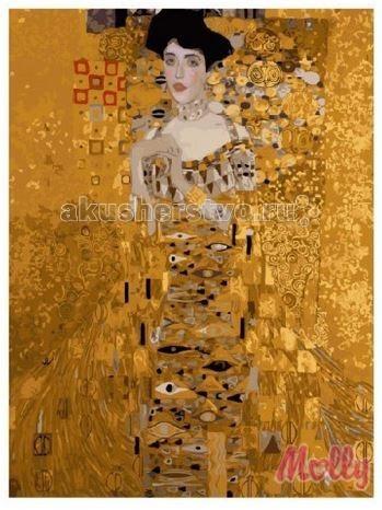 Раскраска Molly Картина по номерам Адель Климт 40х50 см