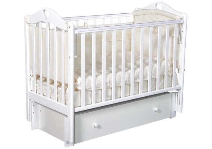 Детская кроватка Антел Каролина 6 (маятник продольный)