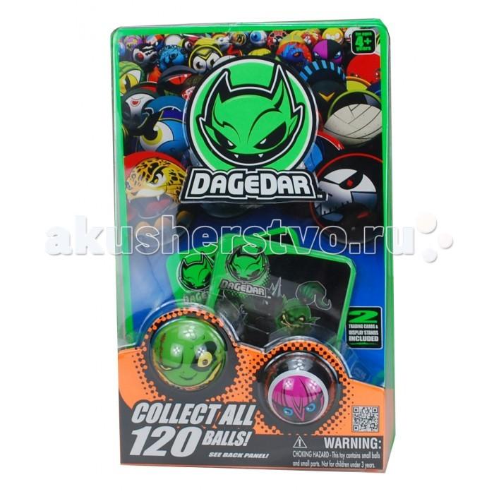 DaGeDar Игровой набор 2 основных супербыстрых шара