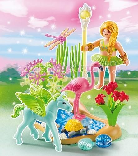 Конструктор Playmobil Принцесса: Сказочная Принцесса Лета с летающей лошадкой