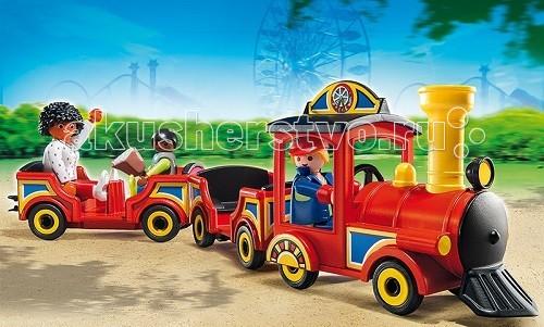 Конструктор Playmobil Парк Развлечений: Детский поезд от Акушерство