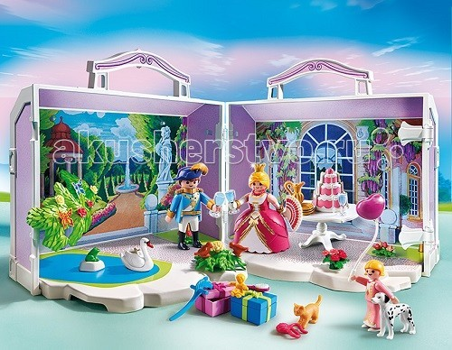 Конструктор Playmobil Возьми с собой: День рождения принцессы