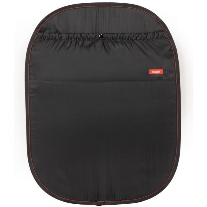 Diono Чехол для спинки переднего автомобильного сиденья Stuffn ScuffЧехол для спинки переднего автомобильного сиденья Stuffn ScuffЧехол для спинки переднего автомобильного сиденья. Защищает кресло автомобиля от возможных загрязнений ногами ребенка при использовании детского автокресла. Рекомендуется для защиты кожаных автомобильных сидений. Подходит для любых автомобилей. Саморасправляемое устройство. Большой карман для различных мелочей.  водонепроницаемый легко моется легко крепится к подголовнику авто<br>