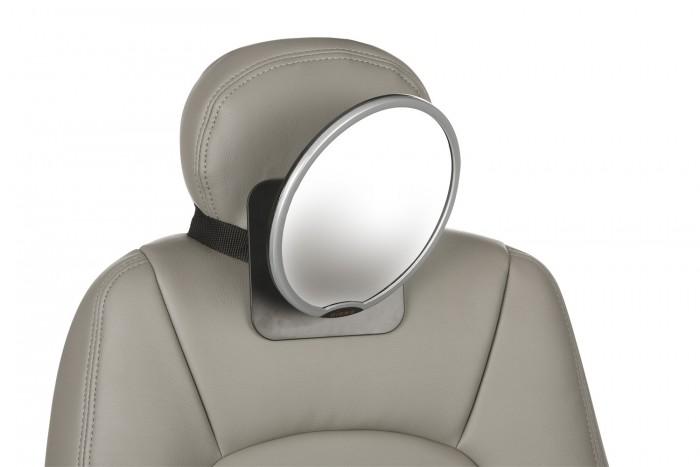 Diono Дополнительное зеркало для контроля за ребенком в автомобиле Easy ViewДополнительное зеркало для контроля за ребенком в автомобиле Easy ViewДополнительное зеркало для контроля за ребенком в автомобиле. Вращается на 360 градусов, прикрепляется к подголовнику заднего сиденья.<br>