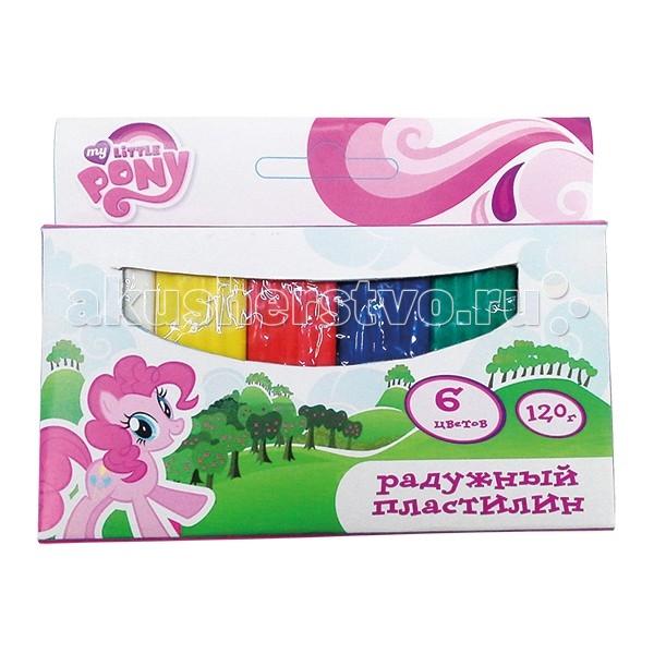 Multiart Пластилин Классический восковый my little pony 5091-MLP