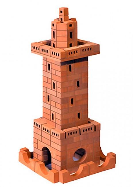 Конструктор Brickmaster Маяк 230 деталейМаяк 230 деталейКонструктор Brickmaster Маяк 230 деталей - очень популярная новинка среди развивающих игрушек в последнее время.  Играя с этим набором малыш сможет почувствовать себя настоящим строителем и архитектором. Ведь ему предстоит строить из самых настоящих керамических кирпичиков и цемента.  Ваш  малыш сможет соорудить из деталей симпатичный маяк. Если ребенок захочет обновить постройку или создать другое здание, конструкцию нужно замочить в воде на несколько часов. Тогда цемент растворится в воде, а гладкие кирпичики Брикмастер снова будут готовы к использованию.  Играя с конструктором из настоящих кирпичиков и создавая интересные постройки, ребёнок развивает мелкую моторику рук, логическое мышление,творческие способности, внимательность и усидчивость. А также учится конструировать по схеме и составлять собственные проекты.  В набор входит: 230 маленьких кирпичиков, строительная смесь, маленький мастерок и подробная пошаговая инструкция.<br>
