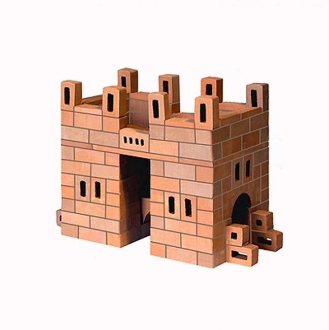 Конструктор Brickmaster Арка 163 деталиАрка 163 деталиКонструктор Brickmaster Арка 163 детали - очень популярная новинка среди развивающих игрушек в последнее время.  Конструктор из настоящих кирпичиков прекрасно подойдет для юных строителей. Играя с этим набором малыш сможет почувствовать себя настоящим строителем и архитектором. Ведь ему предстоит строить из самых настоящих керамических кирпичиков и цемента.  Ваш малыш сможет соорудить из деталей симпатичную арку. Если ребенок захочет обновить постройку или создать другое здание, конструкцию нужно замочить в воде на несколько часов. Тогда цемент растворится в воде, а гладкие кирпичики Брикмастер снова будут готовы к использованию.  Играя с конструктором из настоящих кирпичиков и создавая интересные постройки, ребёнок развивает мелкую моторику рук, логическое мышление,творческие способности, внимательность и усидчивость. А также учится конструировать по схеме и составлять собственные проекты.  В набор входит: 163 маленьких кирпичика, строительная смесь, маленький мастерок и подробная пошаговая инструкция.<br>