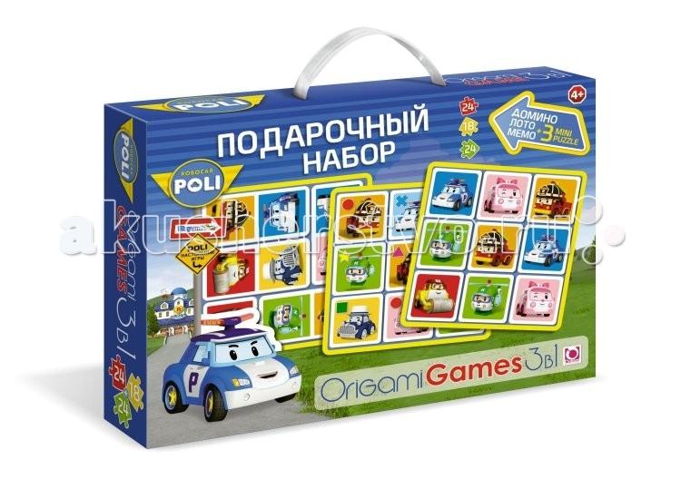 Robocar Poli Подарочный набор 3 в 1