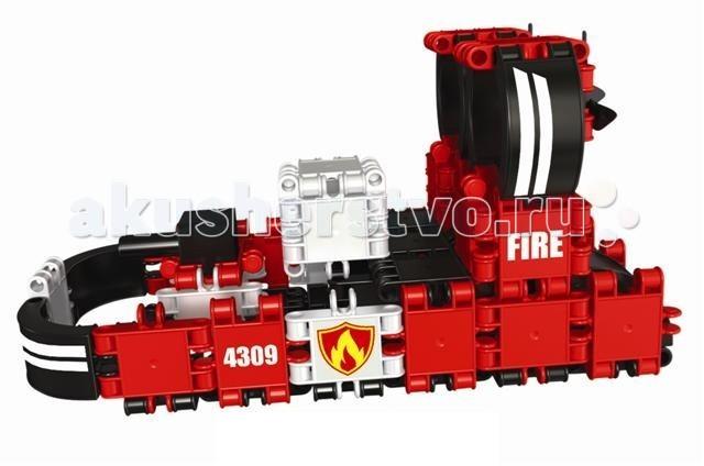 Конструктор Clics Пожарная команда 8 в 1Пожарная команда 8 в 1Конструктор Clics Пожарная команда 8 в 1 - позволяет построить 8 разных видов пожарной техники, такие как катера, самолеты и несколько видов пожарных машин.  Инновационный развивающий конструктор для самых креативных будущих пожарников в мире! Уникальность в новом оригинальном способе крепления деталей из прочного качественного пластика – при соединении, части издают звук клик, который очень нравится детям и стимулирует продолжать работу.   Строить можно как по образцу, так и воплощая свои собственные замыслы.  Можно собрать разнообразный транспорт, который поможет бороться с огнём. Такая игра развивает у ребёнка смелость, решительность, а также коммуникативные навыки, расширяет кругозор, знакомит с профессиями.  127 деталей и тематические наклейки позволят собрать сразу 8 видов пожарных машин и не только. Внутри ребёнок найдёт как стандартные элементы, так и необычной формы – например, подвижные пропеллеры, ветровые стёкла, которые сделаны прозрачными и не только.   В наборе: 91 элемент Кликс + 36 аксессуаров: новые колеса, мигалки, пропеллер, кенгурятник, прозрачные ветровые стекла + набор тематических наклеек.  Размер деталей: 3 х 5 см<br>