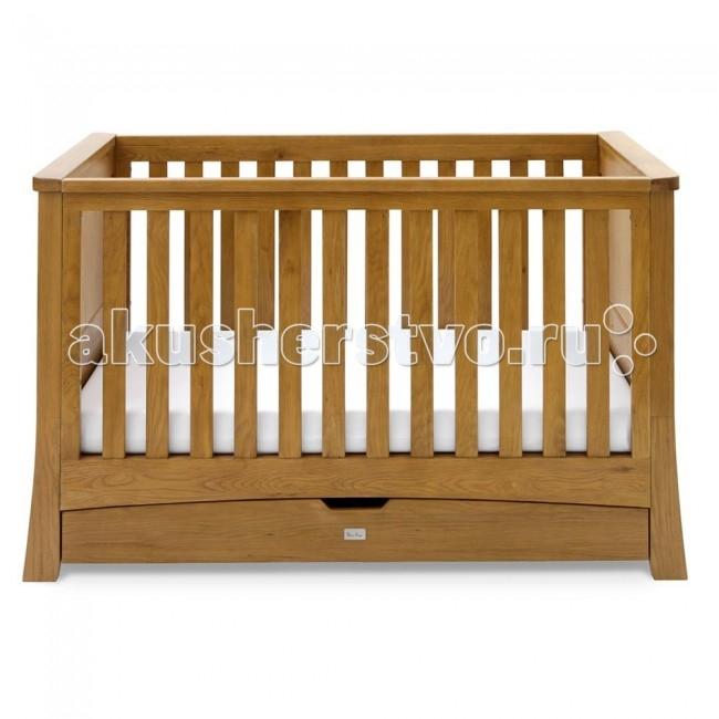 Детская кроватка Silver Cross CanterburyCanterburyДизайн кроватки разработан таким образом, что ее можно использовать для детей разных возрастов. По Вашему желанию она легко трансформируется: во-первых, кроватка Canterbury подходит с рождения, и вы можете регулировать высоту днища в трех положениях, по мере того, как ваш ребенок растет. Во-вторых, кроватка Canterbury - это не только кроватка для новорожденных, но и стильное решение для более взрослых малышей. По желанию, можно снять либо одну, либо обе спинки кроватки.  Canterbury - особенная коллекция от Silver Cross, выполненная в классическом дизайне из массива дуба. Внешний вид изделия продуман до мелочей: резные ножки кровати, комода и шкафа, аккуратные и удобные ручки. Это коллекция высочайшего качества, которая прослужит Вам всю жизнь. Она станет великолепным дополнением в любом доме.  Характеристики: кроватка подходит детям от самого рождения до 10 лет конструкция из дуба и дубового шпона крепежные узлы – пластик и металл покрытие – краска на нитроцеллюлозной основе и полировка, противоалергеновое покрытие удобные размеры надежная конструкция из цельной древесины прекрасная отделка высокого качества 3 варианта использования: детская кроватка, кушетка, диван-кровать  высота регулируется в 3-х положениях по мере роста ребенка выдвижной ящик с двумя отделениями во всю длину кроватки поверхность безопасна для режущихся зубов ребенка фирменный стальной логотип Silver Cross на спинке кровати  Общие размеры:   спального места (дхш) 140x70 см внешние (вхшхд) 93x79x159 см<br>