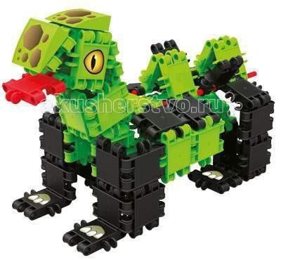Конструктор Clics Страна динозавров 101 детальСтрана динозавров 101 детальКонструктор Clics Страна динозавров 101 деталь - состоит из множества ярких по цвету полукруглых деталей для сборки уникальных игрушек.  Красочные пластиковые детали - кликсы имеют надежные крепления, легко соединяются между собой, выдерживают многократную сборку-разборку и полностью совместимы с игровыми деталями других наборов от CLICS. При соединении деталей раздается негромкий звук клик, благодаря нему конструкторы и получили свое название. Собранные фигуры, игрушки и транспортные средства обладают оптимальной прочностью, максимальной возможностью к трансформации и не ломаются при падении или ударе.   Фантазия детей безгранична, и с помощью этого конструктора Ваш ребенок воплощает в жизнь самые необычные свои замыслы  Clics – уникальный конструктор из Бельгии, особенностью которого является необычное крепление строительных элементов между собой, что позволяет быстро создавать большие по площади и объему конструкции, при этом прочные и гибкие. CLICS - способствует развитию мелкой моторики, пространственного воображения, логики, математических навыков, стимулирует стремление к поиску решений задач.<br>