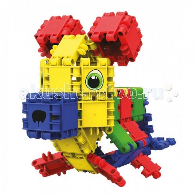 Конструктор Clics ЗооПарк 108 деталейЗооПарк 108 деталейКонструктор Clics ЗооПарк 108 деталей - состоит из множества ярких по цвету полукруглых деталей для сборки уникальных игрушек.  Красочные пластиковые детали - кликсы имеют надежные крепления, легко соединяются между собой, выдерживают многократную сборку-разборку и полностью совместимы с игровыми деталями других наборов от CLICS. При соединении деталей раздается негромкий звук клик, благодаря нему конструкторы и получили свое название. Собранные фигуры, игрушки и транспортные средства обладают оптимальной прочностью, максимальной возможностью к трансформации и не ломаются при падении или ударе.   Фантазия детей безгранична, и с помощью этого конструктора Ваш ребенок воплощает в жизнь самые необычные свои замыслы  Clics – уникальный конструктор из Бельгии, особенностью которого является необычное крепление строительных элементов между собой, что позволяет быстро создавать большие по площади и объему конструкции, при этом прочные и гибкие. CLICS - способствует развитию мелкой моторики, пространственного воображения, логики, математических навыков, стимулирует стремление к поиску решений задач.<br>