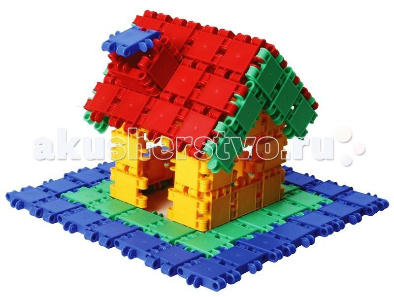 Конструктор Clics Развивающий 125 деталейРазвивающий 125 деталейКонструктор Clics Развивающий 125 деталей - состоит из множества ярких по цвету полукруглых деталей для сборки уникальных игрушек.  Красочные пластиковые детали - кликсы имеют надежные крепления, легко соединяются между собой, выдерживают многократную сборку-разборку и полностью совместимы с игровыми деталями других наборов от CLICS. При соединении деталей раздается негромкий звук клик, благодаря нему конструкторы и получили свое название. Собранные фигуры, игрушки и транспортные средства обладают оптимальной прочностью, максимальной возможностью к трансформации и не ломаются при падении или ударе.   Фантазия детей безгранична, и с помощью этого конструктора Ваш ребенок воплощает в жизнь самые необычные свои замыслы  Clics – уникальный конструктор из Бельгии, особенностью которого является необычное крепление строительных элементов между собой, что позволяет быстро создавать большие по площади и объему конструкции, при этом прочные и гибкие. CLICS - способствует развитию мелкой моторики, пространственного воображения, логики, математических навыков, стимулирует стремление к поиску решений задач.<br>
