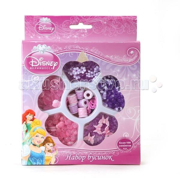 Multiart Набор бусинок Disney ПринцессыНабор бусинок Disney ПринцессыИграем вместе Набор бусинок Multiart disney принцессы, более 180 деталей.  Бисероплетение является благородным искусством для настоящей принцессы, поэтому неудивительно, что на упаковке с данным набором изображены Русалочка, Золушка и Белль. Все аксессуары, которые получатся у девочки с этим комплектом, обязательно будут красивыми, изящными, а главное - любимыми, ведь в их создании помогали такие известные персонажи. В набор входит более 180 бусинок разных форм и цветов, а также несколько нитей.<br>