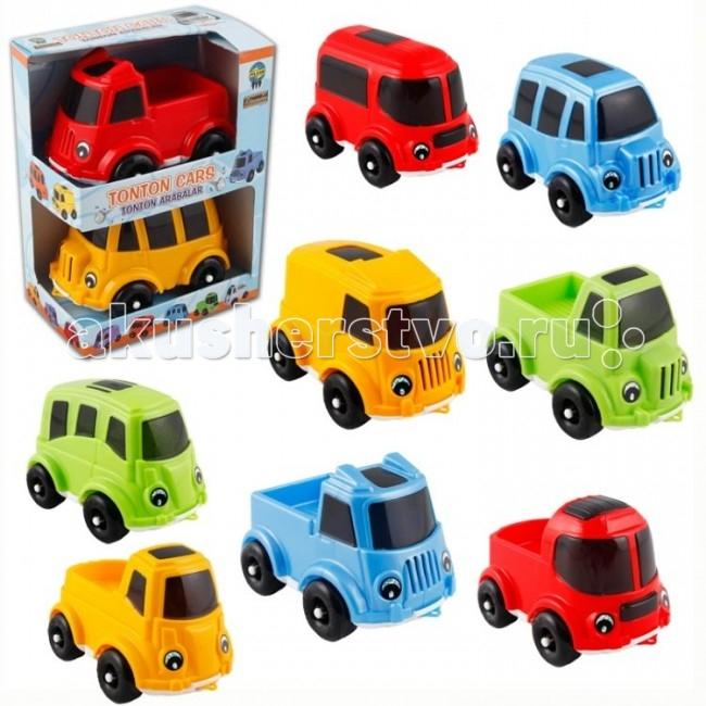 Pilsan Набор машин 2 шт. TontonНабор машин 2 шт. TontonНабор из 2 грузовиков Pilsan Tonton Cars предназначен для детей от 1 года.   Большие колеса и веселые лица на машинках вызовут интерес у Вашего малыша.   Набор изготовлены из экологически чистых материалов.   Среди огромного количества детских игрушек выгодно отличается продукция турецкой компании Pilsan, которая является лидером в производстве крупногабаритных игрушек для детей разных возрастов. Продукцию компании Pilsan характеризует высокое качество, недаром лозунг компании звучит как «Quality in Toys» - «Качество в игрушках». Продуманный дизайн, тестирование, обеспечение контроля на всех стадиях производства подтверждает слоган компании. Все игрушки, производимые компанией Pilsan, отличаются высоким качеством, безопасны, не содержат вредных материалов и красителей, для производства используется экологически чистый пластик.<br>