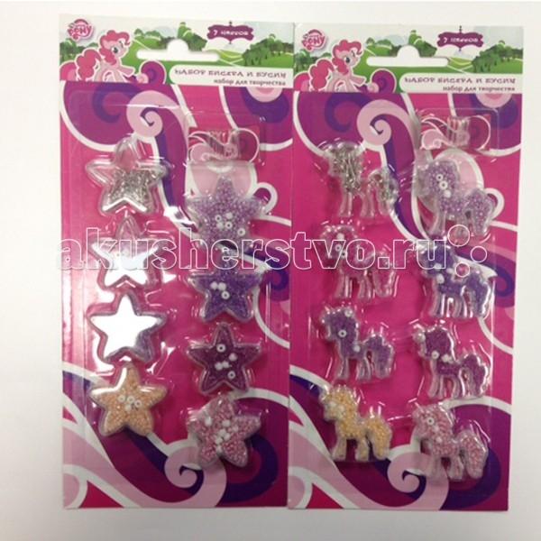 Играем вместе Набор бисера My Little PonyНабор бисера My Little PonyИграем вместе Набор Бисера Multiart My Little Pony различных цветов.  Набор бисера My Little Pony представляет собой комплект для детского творчества, дающий юной моднице возможность создавать свои собственные стильные украшения. Бижутерия в стиле хэндмейд популярна не только среди детей, поэтому готовые изделия девочка сможет подарить и кому-нибудь из взрослых. Бисер имеет яркие цвета, что позволяет создавать с его помощью действительно красивые украшения. Упаковка товара украшена персонажами знаменитого детского мультфильма Мои маленькие пони.<br>