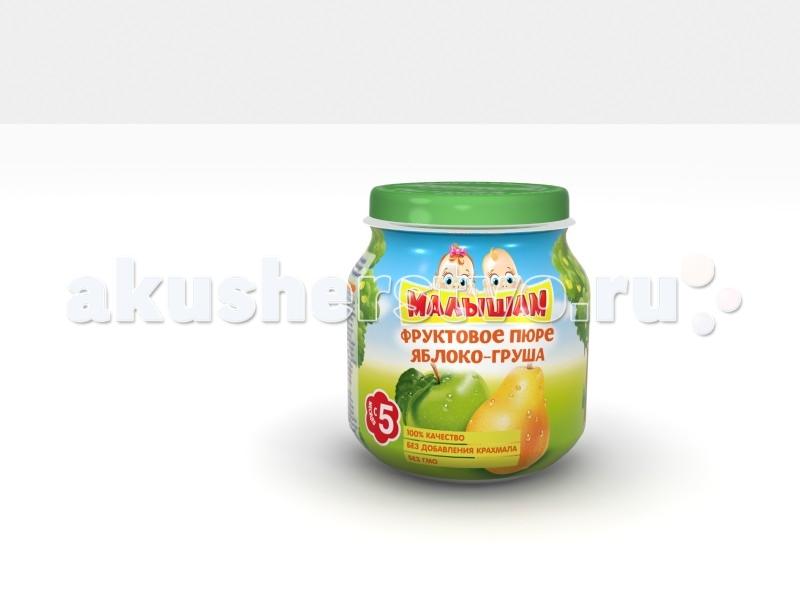 ФрутоНяня Малышам Пюре из яблок и груш с 5 мес. 100 г