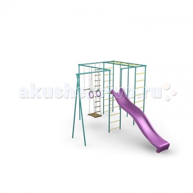 СпортОкей Детский спортивный комплекс Классик с горкой