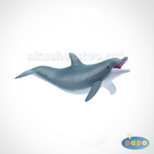 Papo Игровая реалистичная фигурка Играющий дельфинИгровая реалистичная фигурка Играющий дельфинИгровая реалистичная фигурка Играющий дельфин 56004  Ручная роспись. Все фигурки Papo проходят тщательную подготовку и обработку, поэтому они крепкие и долговечные.  Материал: высококачественный полимерный материал.<br>