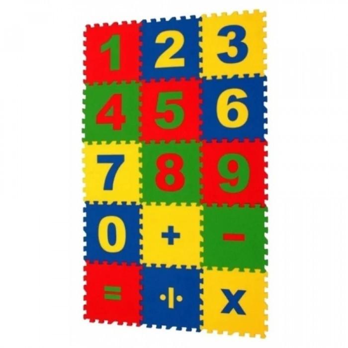 Игровой коврик Экопромторг Математика 25х25 см