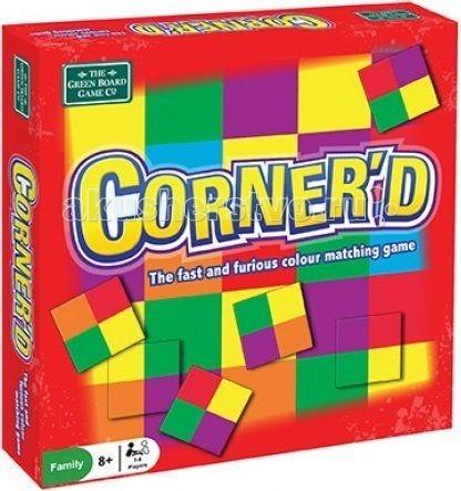 BrainBox Игра КорнердИгра КорнердИгра Корнерд.  Игра Корнерд от BRAINBOX отлично подойдет для детей и взрослых и станет хорошим развлечением на вечер.  Игра Корнерд состоит из игрового поля и 36 карточек. Игровое поле разукрашено разноцветными квадратами. Каждая карточка, так же разукрашена четырьмя квадратами разных цветов. В эту игру может играть несколько игроков. Перед игрой раздаются по 5 карточек. Каждый игрок должен быстро найти соответствующее сочетание цветов на игровом поле и выложить на нее свою карточку.Данная игра хорошо развивает внимание и учит быстро ориентироваться. Все элементы игры состоят из картона.<br>