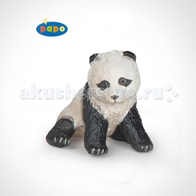 Papo Игровая реалистичная фигурка Сидящий детёныш панды