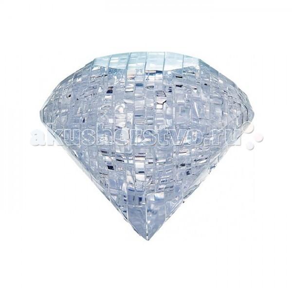 Crystal Puzzle Головоломка БриллиантГоловоломка БриллиантГоловоломка CRYSTAL PUZZLE 90006 Бриллиант.  Объемный 3D-пазл Бриллиант - прекрасный способ провести время увлекательно и с пользой. Пазл представляет собой фигурку в виде бриллианта, выполненную из прозрачного пластика и состоящую из 42 элементов. Такая головоломка собирается слоями. Каждой детали головоломки присвоен номер: вам необходимо соединить элементы пазла друг с другом по порядку. Собрать пазл правильно и быстро вам поможет подробная схематичная инструкция.  Пазл - великолепная игра для семейного досуга, захватывающая и взрослых, и детей. Сегодня собирание пазлов стало особенно популярным, главным образом, благодаря своей многообразной тематике, способной удовлетворить самый взыскательный вкус.  CRYSTAL PUZZLE - это объемные головоломки из полупрозрачного пластика. Права на головоломки принадлежат японской компании Beverly Enterprises и компании Jeruel из Гонконга. Продукция произведена в Китае на собственной фабрике компании Jeruel из пластика высокого качества с соблюдением мировых стандартов. Crystal Puzzle уже стали популярны в Америке, Азии, Европе. В России кристальные 3D-головоломки тоже завоевывают сердца покупателей!<br>