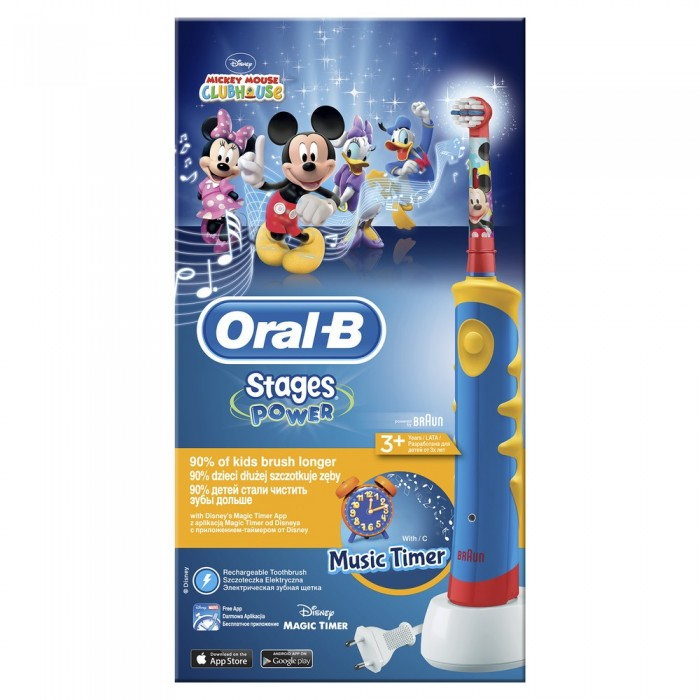 Oral-B Kids ������� ������������� ������ ���� Mickey Mouse