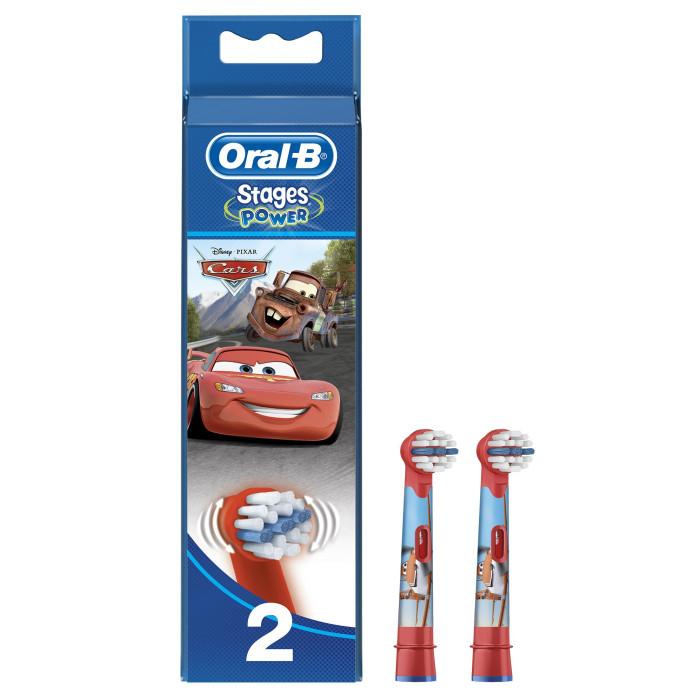 Oral-B Kids Сменные Насадки StagesKids Сменные Насадки StagesOral-B Kids Сменные Насадки Stages имеет специальные, меньшие по размеру щетинки, которые обеспечивают бережную чистку маленьких зубов и детского рта. Данная модель подходит для детей старше 3-х лет.<br>