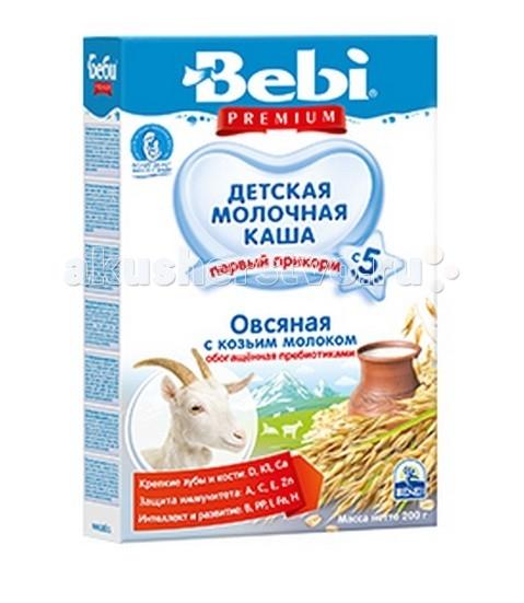 Bebi Молочная Овсяная каша с козьим молоком с 5 мес. 200 г