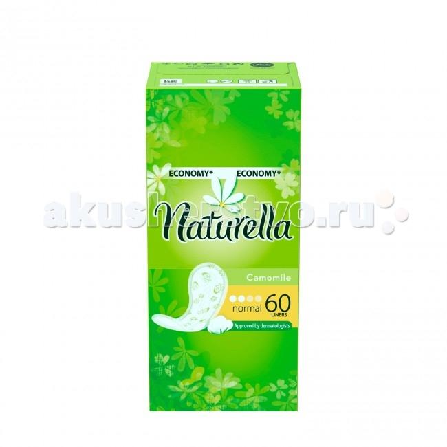 Naturella Женские гигиенические прокладки на каждый день Camomile Normal Trio 60 шт.