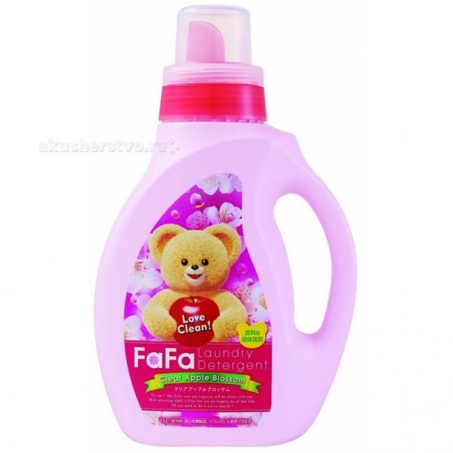 NS Fa-Fa Жидкое средство для стирки детского белья с яблочным ароматом 1000 мл
